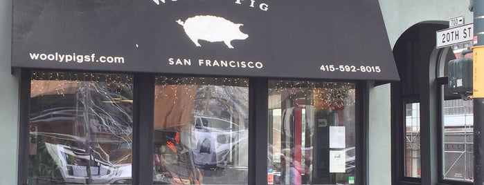 Wooly Pig is one of Dogpatch Work.