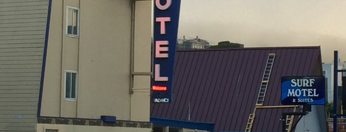Surf Motel is one of Todo list for San Fran / Palo Alto trip:.