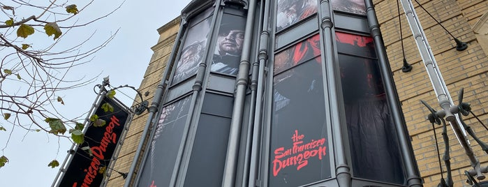 The San Francisco Dungeon is one of San Francisco.