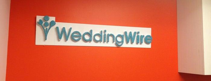 WeddingWire is one of Orte, die Hoff gefallen.