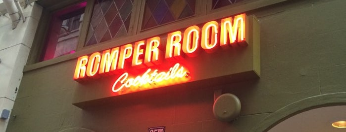 Romper Room is one of The San Franciscans: Happy Hour.