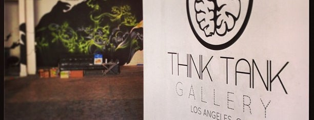 Think Tank Gallery is one of Los Angeles.