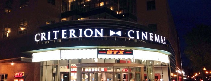 Criterion Cinemas 11 & BTX is one of Brett'in Beğendiği Mekanlar.