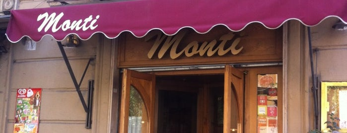 Trattoria Monti is one of Rome Restaurant.