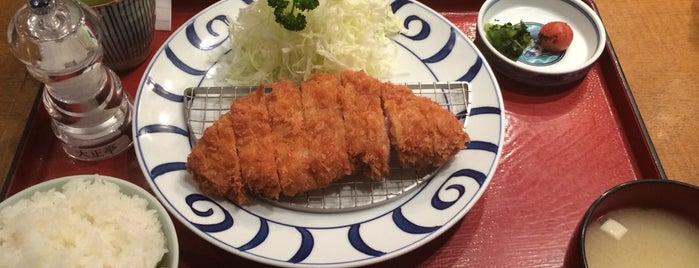 黒ブタかつれつ 大正亭 is one of 福岡.