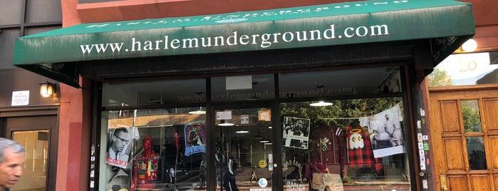 Harlem Underground is one of NY- not food.