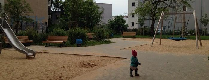 Spielplatz Lehderstrasse is one of Playgrounds in Berlin.