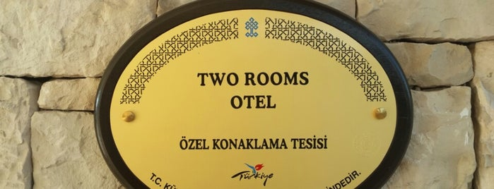 2Rooms hotel is one of Küçük ve Butik Oteller Türkiye.