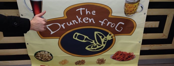 """Drunken Frog"" is one of Lieux sauvegardés par Vladimir."