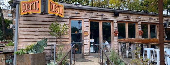 Cosmic Coffee + Beer Garden is one of Locais curtidos por Greg.