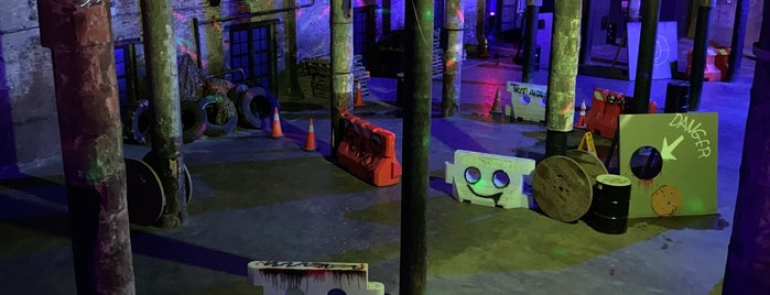 Area 53 Laser Tag is one of NYC To Do List.