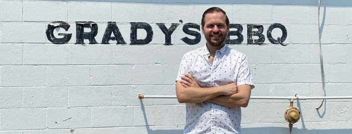 Grady's BBQ is one of NC YumYum NomNom.