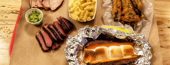 Randall's Barbecue is one of The 20 Best BBQ Joints in NYC.