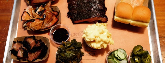 Fletcher's Brooklyn Barbecue is one of The 20 Best BBQ Joints in NYC.