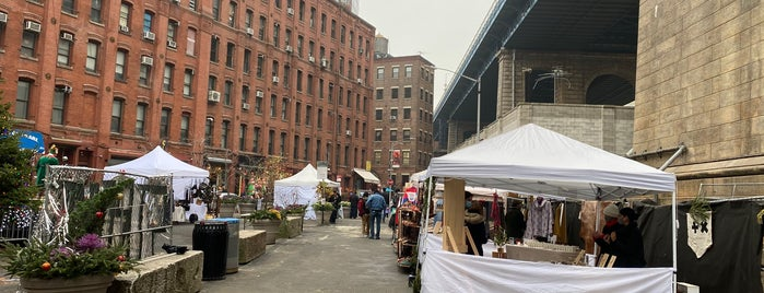 Brooklyn Flea - Dumbo is one of nyc.