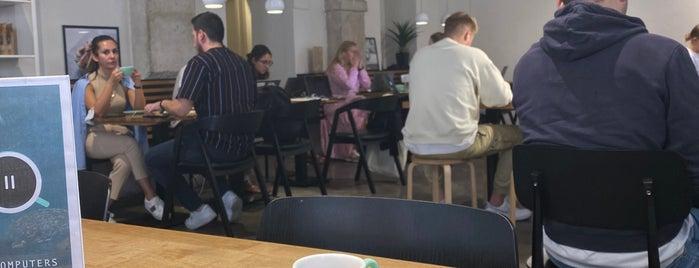 Copenhagen Coffee Lab is one of Lisbon.