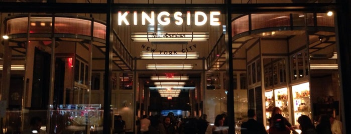 Kingside is one of NYC/MHTN: American.