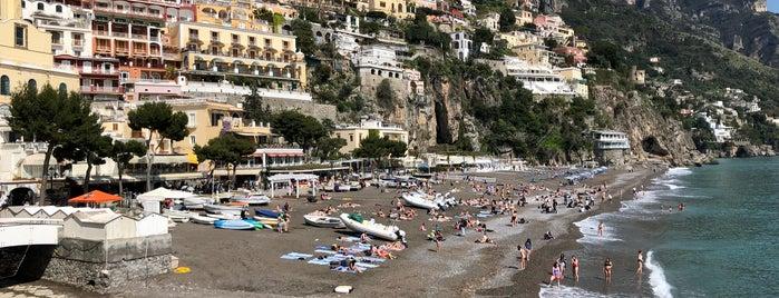 The Beach @ Positano is one of Amalfi Coast, Italy.