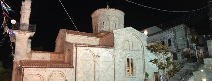 Agios Myronas is one of Tempat yang Disimpan Oytun.