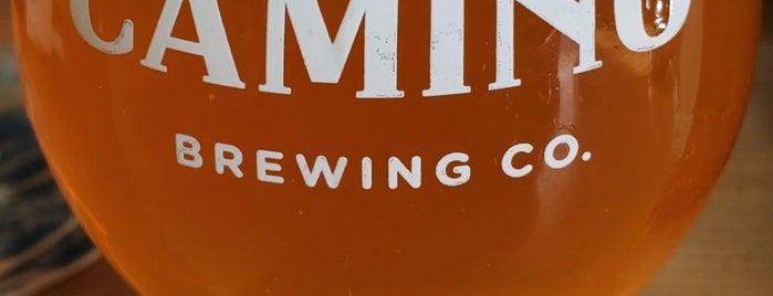 Camino Brewing Co. is one of Matthew'in Beğendiği Mekanlar.