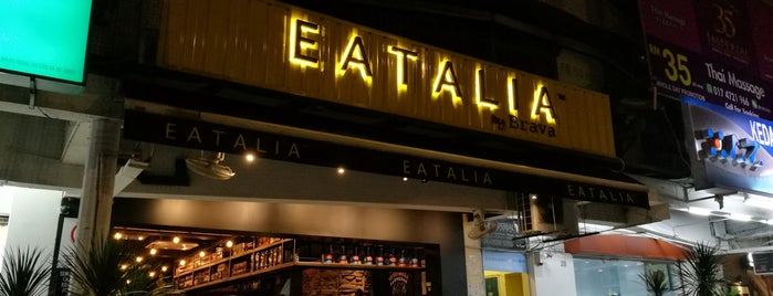 EATALIA By Brava is one of Locais salvos de Justin.