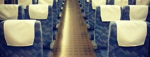 Shinkansen Tokyo - Shin-Osaka is one of Orte, die Mark gefallen.