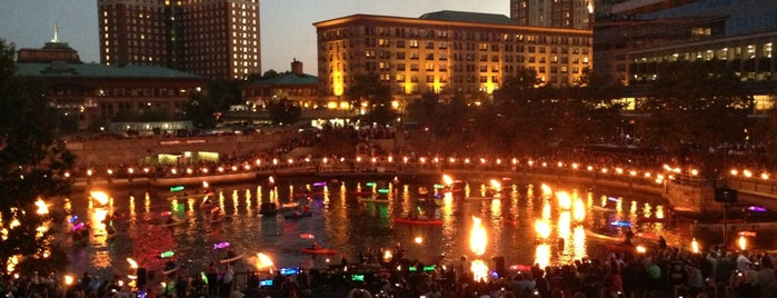 WaterFire - Memorial Park is one of Providence & Newport, RI.