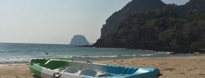 หาดฝรั่ง (Haad Farang or Charlie Beach) is one of Go to Lanta. Be Bamboocha..