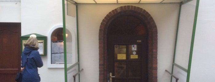 "Restaurant "" Zum - Eichtalpark is one of สถานที่ที่บันทึกไว้ของ Mike."