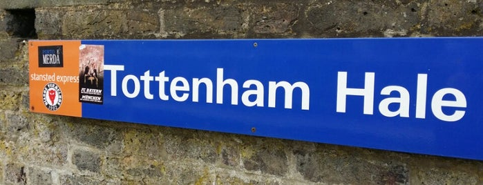 Tottenham Hale Railway Station (TOM) is one of Spring Famous London Story.