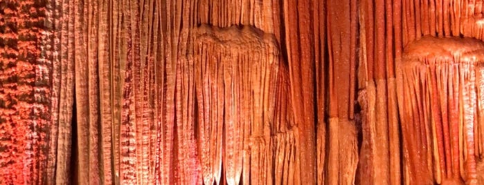 Meramec Caverns is one of Route 66.