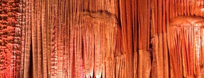 Meramec Caverns is one of Route 66.