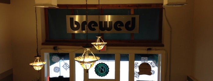 Brewed Cafe and Pub is one of Portlandia.