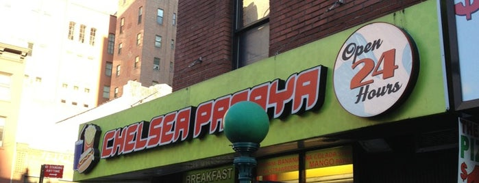Chelsea Papaya is one of New York.