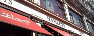 Hamleys is one of England (insert something witty here).