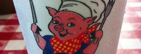 Slope's BBQ is one of Lugares favoritos de Derek.