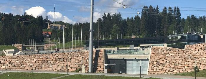 Holmenkollen Ski Jump is one of สถานที่ที่ Damien • ถูกใจ.
