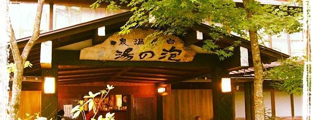 白骨温泉 泡の湯 is one of 温泉.