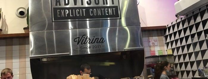 Vitrina is one of Tel Aviv!.
