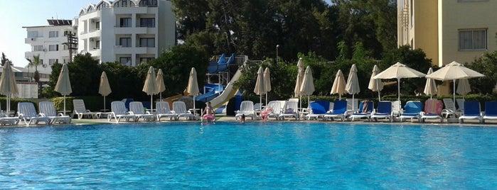 Caprice Beach Hotel Marmaris is one of Тatyana 님이 좋아한 장소.