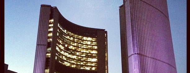 Toronto City Hall is one of CAN Toronto Favourites.