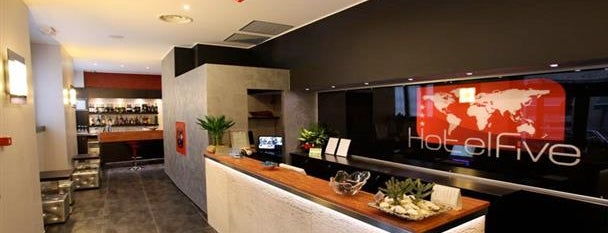 Hotel Five is one of Milan.