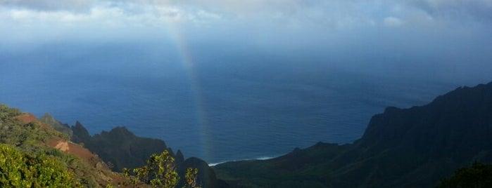 Puu Hinahina Lookout is one of Shaka!.