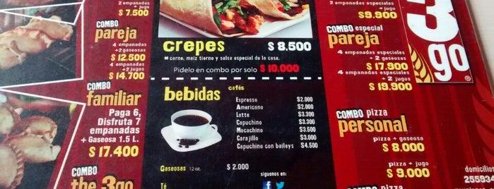 The3go Empanadas is one of Gina : понравившиеся места.