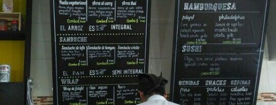 Aba Opcion Vegetariana is one of Bogota Veg.