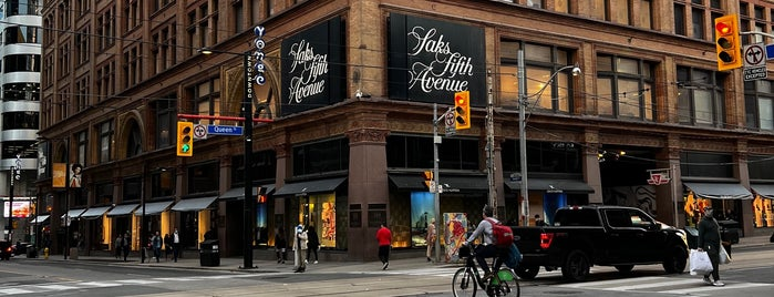 Saks Fifth Avenue is one of Toronto.