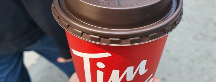 Tim Hortons is one of To try international.