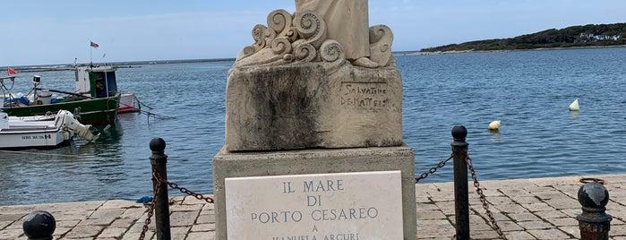 Porto Cesareo is one of Puglia, Italia.
