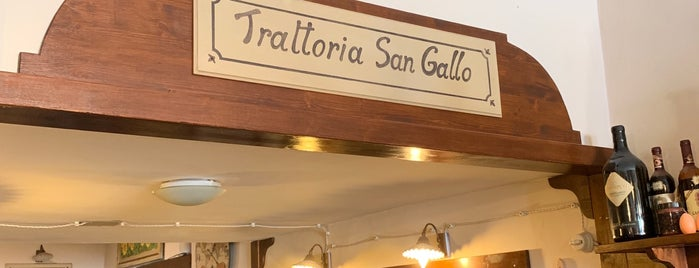 Trattoria Pizzeria San Gallo is one of Florence.