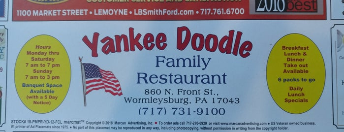 Yankee Doodle Diner is one of Lugares favoritos de Richard.